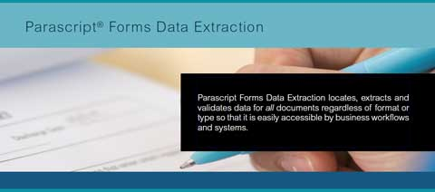 Forms Data Extraction  solution supports time-sensitive business processes by extracting data from all types of forms