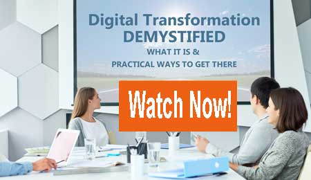 Watch the Digital Transformation Demystified Webinar