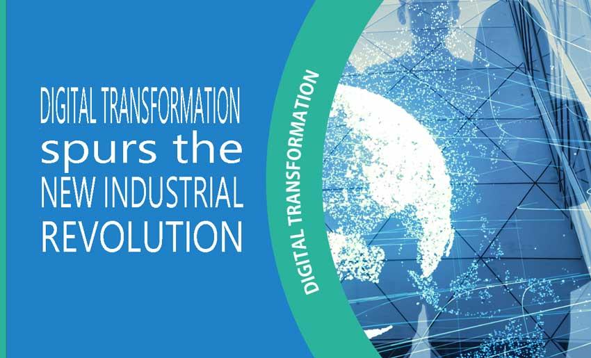 Digital Transformation spurs New Industrial Revolution