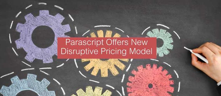 Parascript Offers New Disruptive Pricing Model