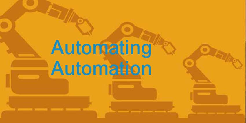 Automating Automation  Machine Learning Behind The Curtain