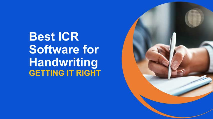 Best ICR Software for Handwriting
