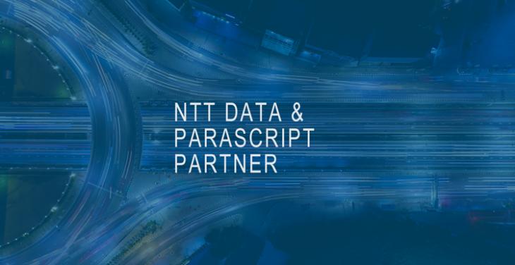 NTT DATA and Parascript Partner
